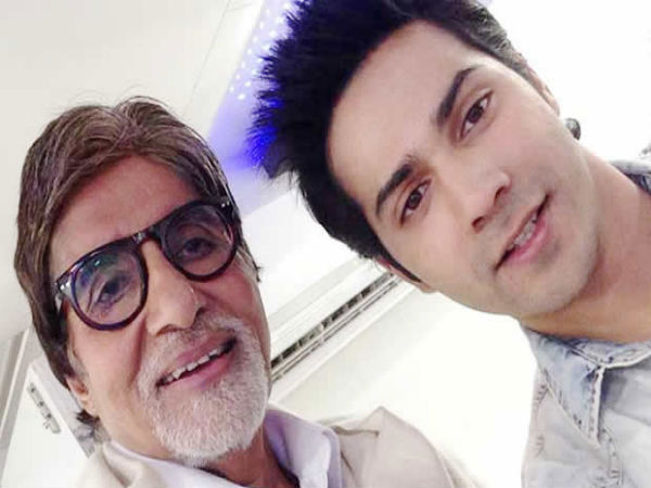 Varun Dhawan With Big B
