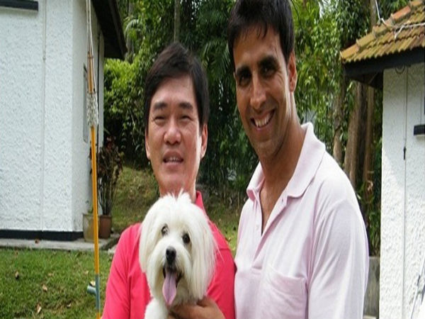 Akshay Kumar With Sheepdog