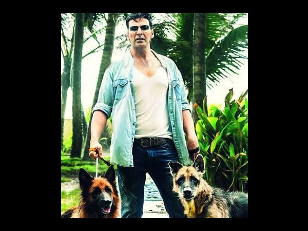 Akshay Kumar With His Pets