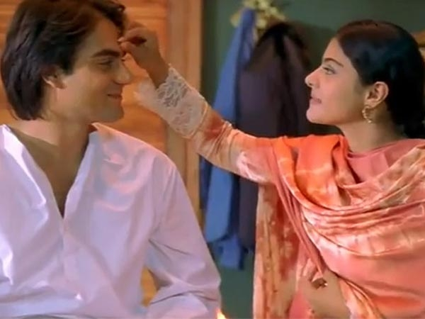 Arbaaz Khan and Kajol