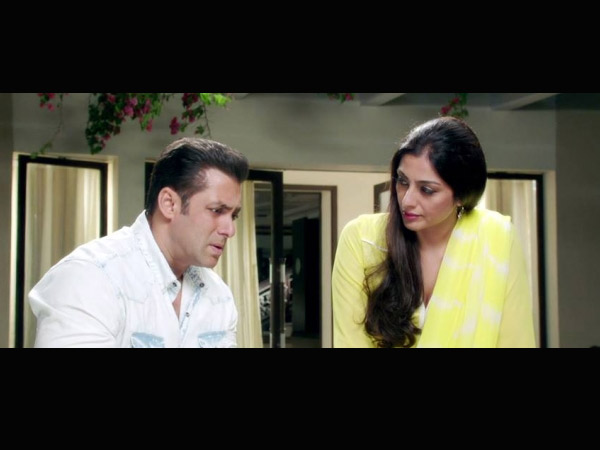 Salman Khan and Tabu