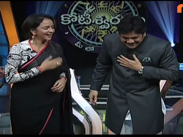 Lakshmi Manchu On MEK