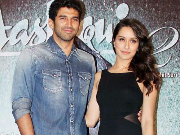 Aditya and Shraddha Kapur in Aashiqui 2