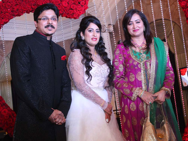 Sumalatha at the wedding