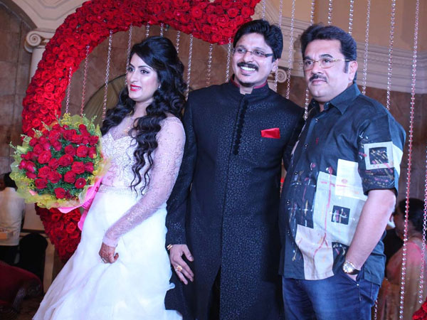 Vishweshwar Bhat at the reception