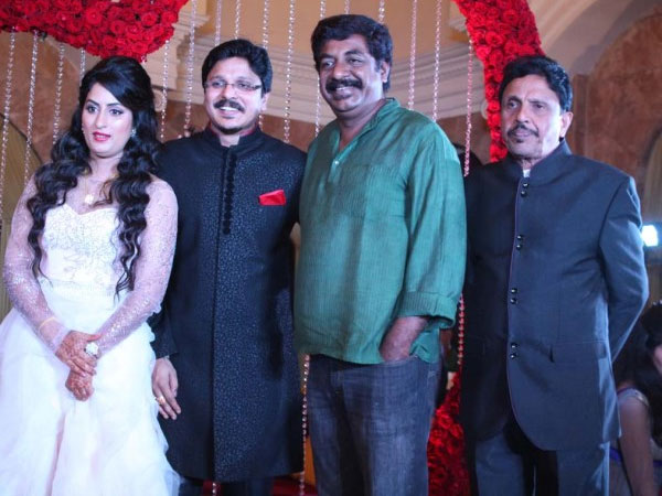 Yogaraj Bhat at the reception