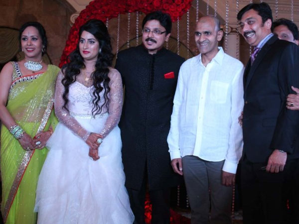 Ragavendra Rajkumar at the wedding