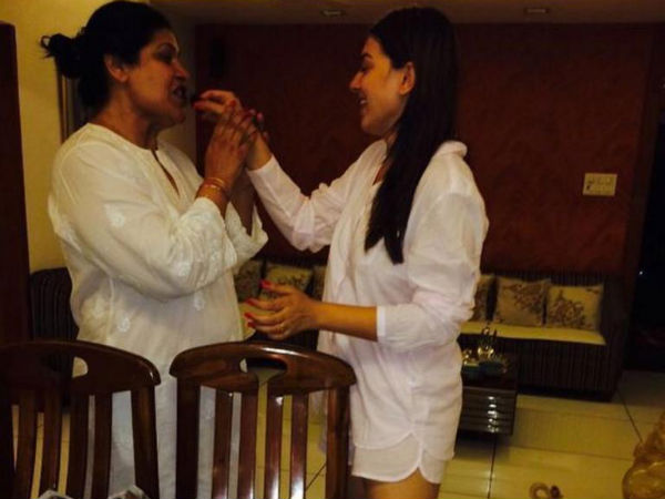 Hansika Motwani's Birthday Celebration With Her Mother