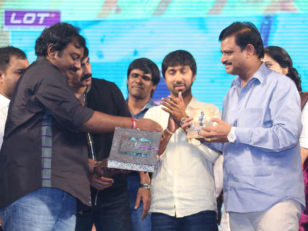 Vinayak Hands Over Power Audio CD To Muniratna
