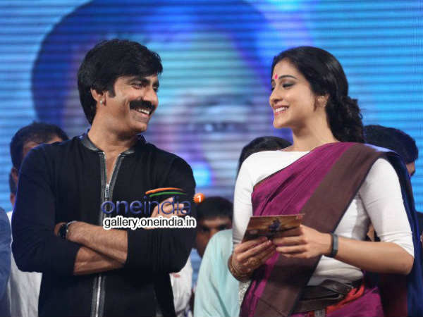Regina Cassandra Bonds With Ravi Teja