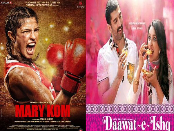 Mary Kom and Daawat E Ishq