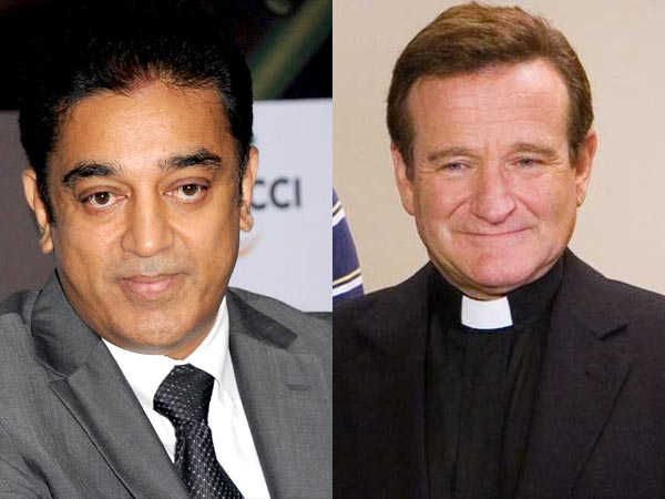 Kamal Hassan Mourns Robin Willaims' Death