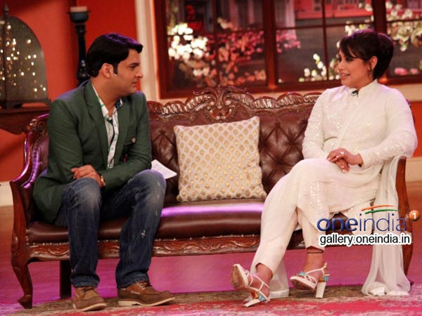 Kapil Sharma Smitten By Rani Mukherjee