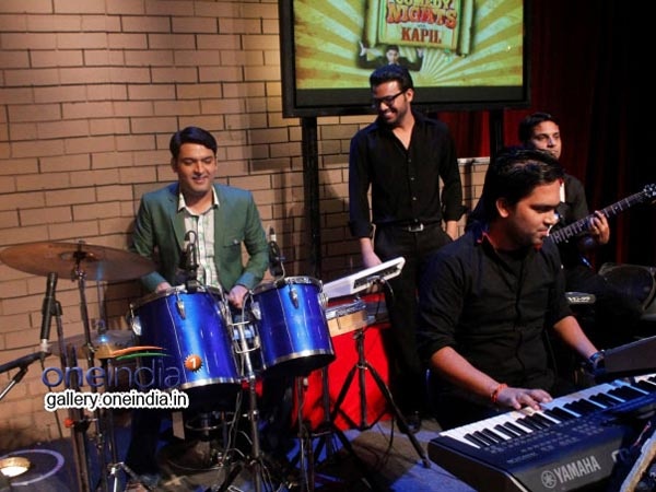 Kapil Behind The Drums
