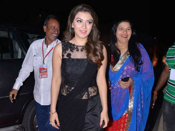 Hansika At Power Audio Launch