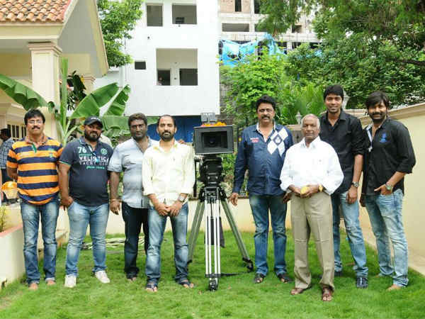 Allari Naresh With Guest At 49th Movie Launch