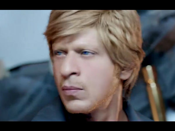 SRK's New Look