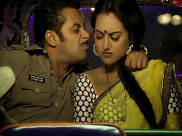 Funny Salman With Sweet Sonakshi