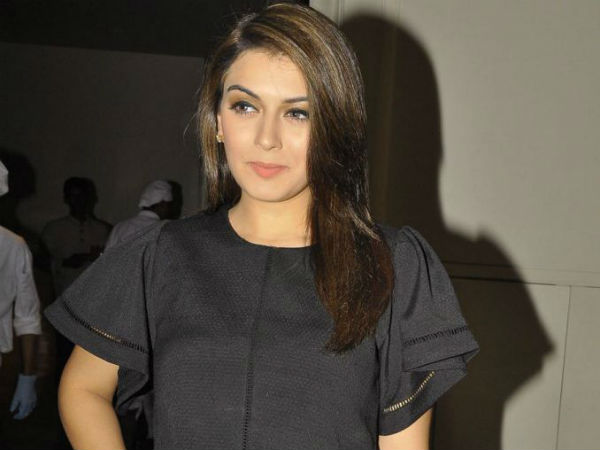 Hansika Motwani Posing For The Camera