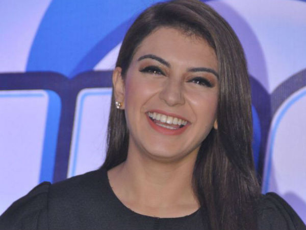 Hansika Having A Big Smile