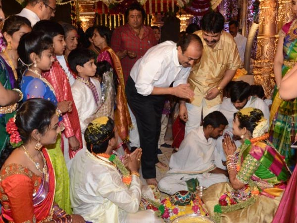 Suresh Babu Nandamuri Mohan Krishna's Daughter Wedding