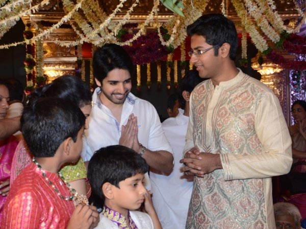 Sushanth At Nandamuri Mohan Krishna's Daughter Wedding