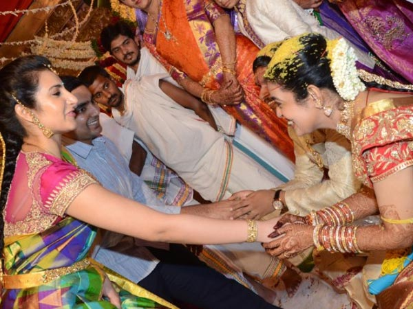 Brahmani At Nandamuri Mohan Krishna's Daughter Wedding