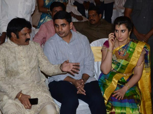 Balakrishna At Nandamuri Mohan Krishna's Daughter Wedding