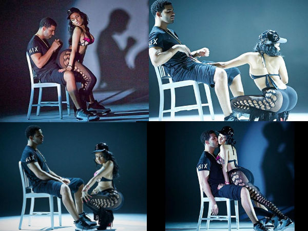 PICS: Nicki Minaj Gets Naughty With Drake In Anaconda