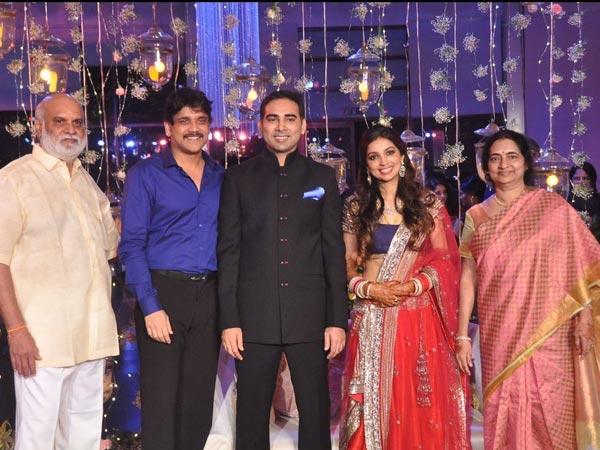 Nagarjuna At K Raghavendra Rao S Son Wedding