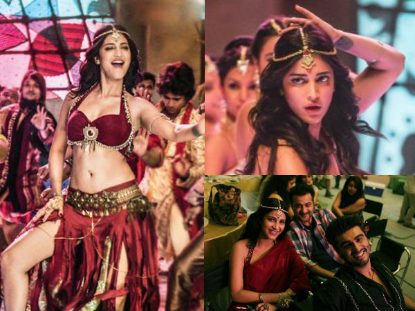 Pics: Shruti Haasan's Hot Item Number in Arjun, Sonakshi Starrer Tevar