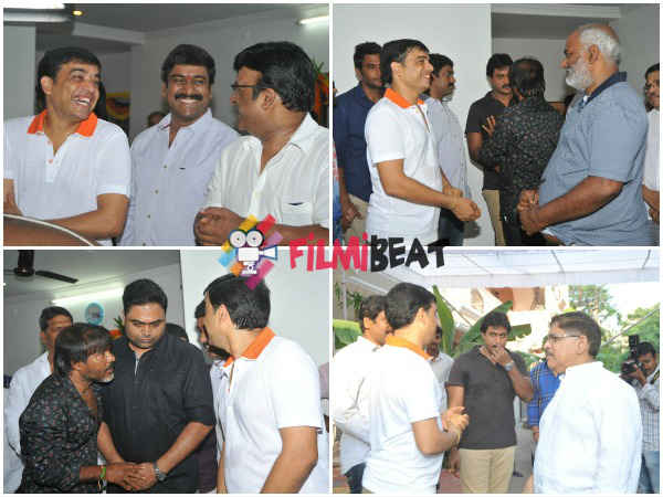 Dil Raju's Bonding With Guests