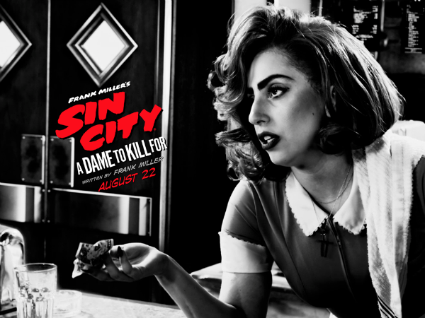 Confirmed: Lady Gaga In Sin City 2 As A Waitress