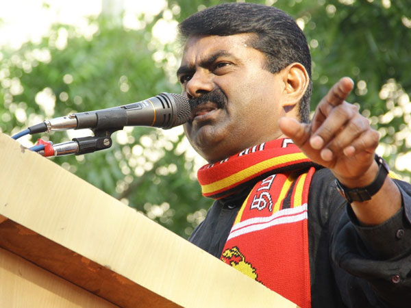 Seeman Hits Back At Fringe Groups Over Kaththi Ban Protests