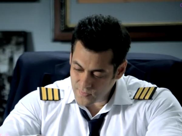 Salman In Uniform