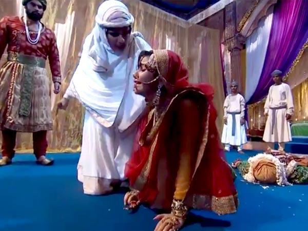 jodha akbar mahamanga fails with her master plan with