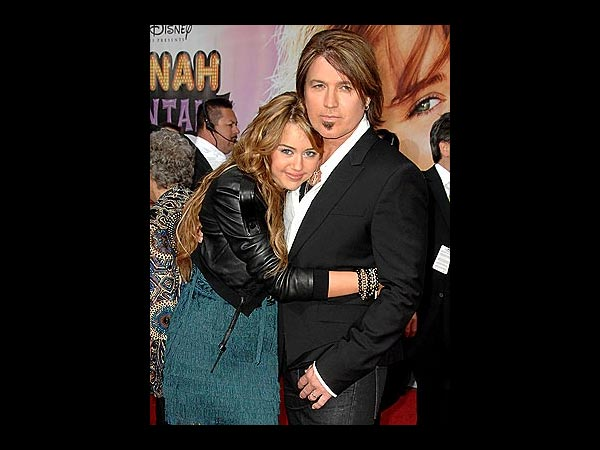Bill Ray Cyrus With Miley In Pics: Birthday Spcl