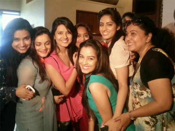 Kratika With Her Actress Friends