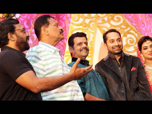 Renji Panicker and Balachandra Menon