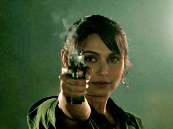 Rani As The Fearless Cop