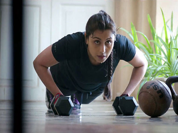 Rani Working Out