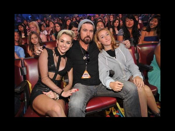 With Miley and Noah