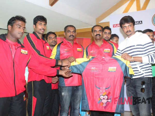 The Bengaluru Bulls Jeresy