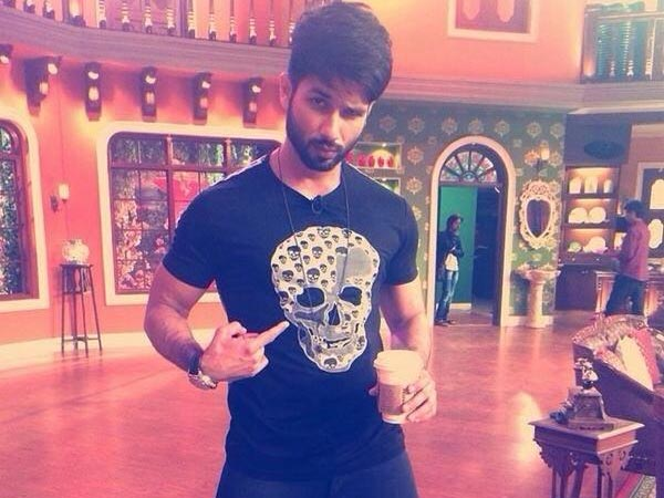 Shahid kapoor hairstyle 2014 comedy nights with kapil