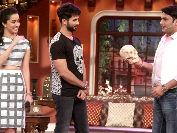 Shahid And Shraddha On Comedy Nights