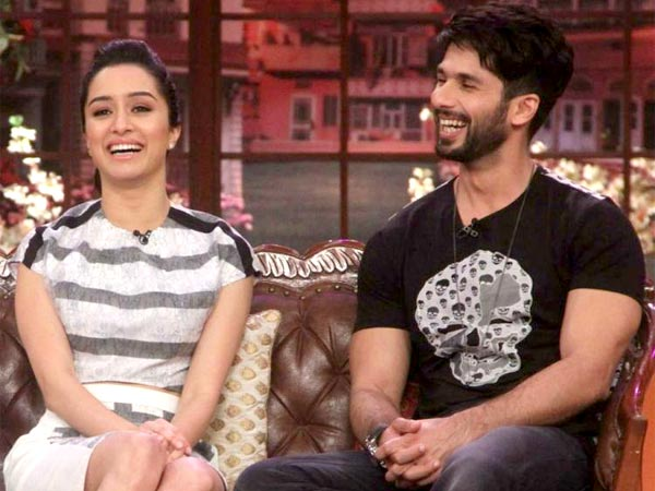 Shahid And Shraddha