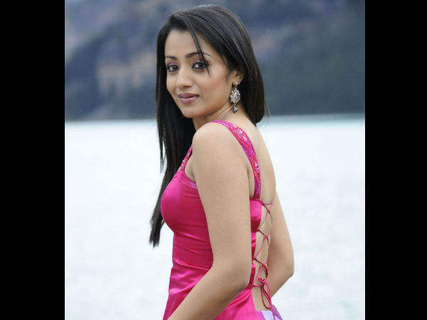 Will Trisha Sport A Bikini In Power***?