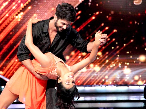 Shahid With Shakti Mohan