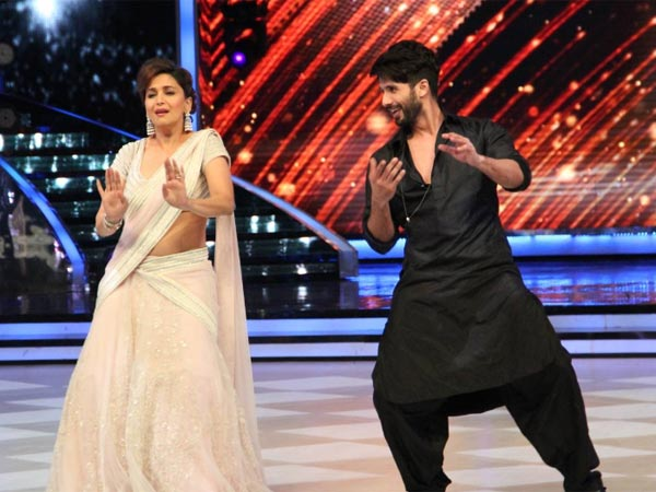 Shahid With Madhuri