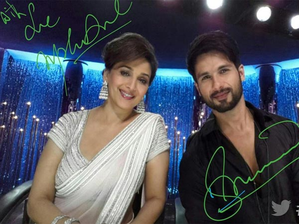 Madhuri And Shahid